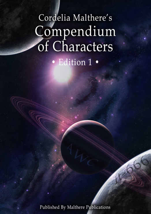 Cordelia Malthere's Compendium of Characters book cover